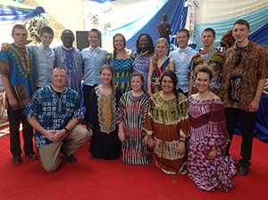 Ghana with Bishop